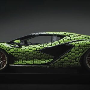 see the story behind the life size lego lamborghini