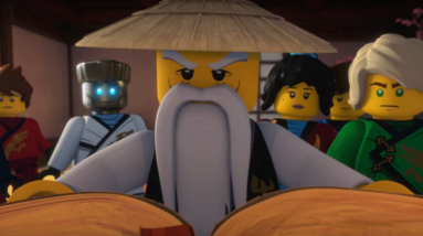 the lego group brings the ninjago musical journey into one video
