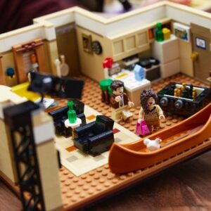the one with the lego 10292 friends apartments designer video