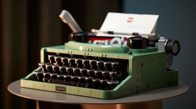 too excited for lego ideas 21327 typewriter try this mini build