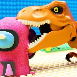 Baby Among Us vs Dinosaur
