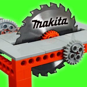 Building a Lego Table Saw