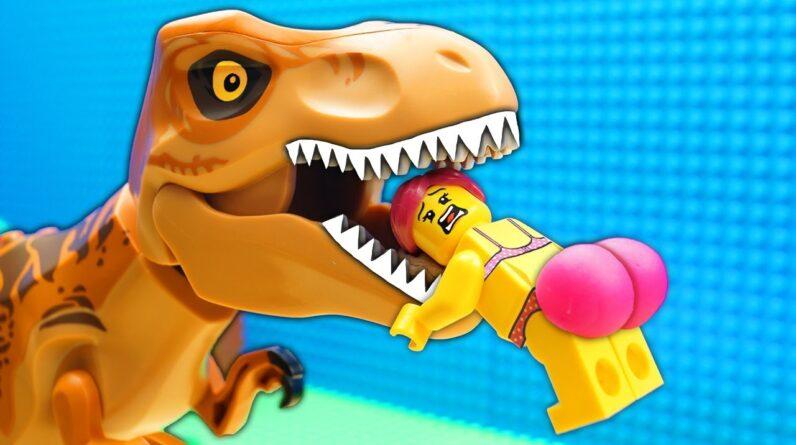 Fast Food vs Jungle Fail Lego