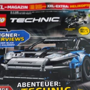 first issue of lego technic magazine includes the themes first polybag in 21 years