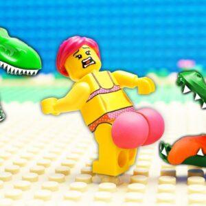 Food vs Vip Gym Lego