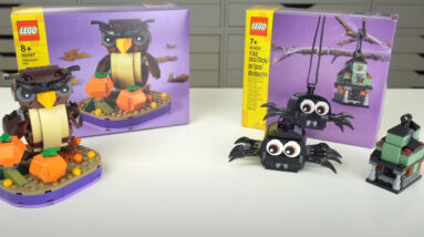 get a frightening first look at the lego halloween 2021 sets