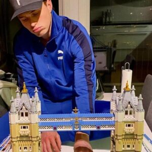 gold medal norwegian athlete unwinds with lego