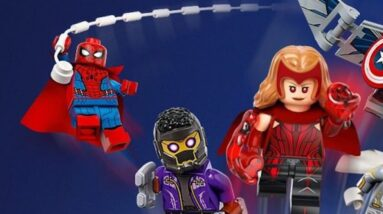 has lego given away some what if spider man spoilers