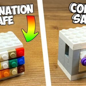 How to make a Lego Color Safe