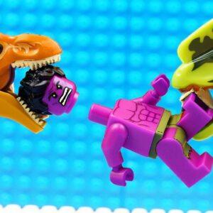 HULK - Heroes vs Godzilla Dilophosaurus Fail