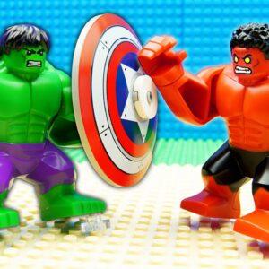 Hulk-Spiderman-Ironman vs Godzilla Team