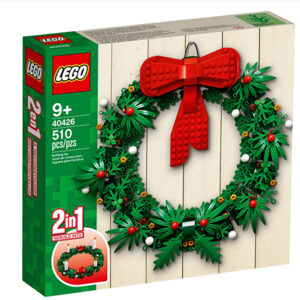 lego 40426 christmas wreath 2 in 1 is back in stock