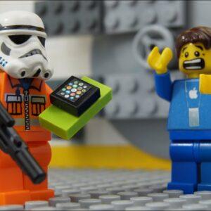 Lego Apple Watch Robbery