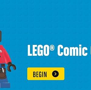 lego comic creator create your own comic