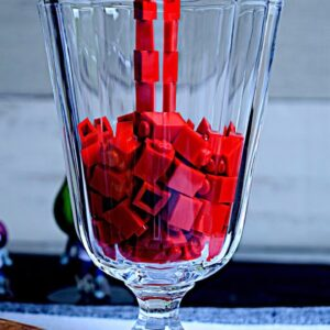 Lego Halloween Dinner - Lego In Real Life 9 / Stop Motion Cooking & ASMR