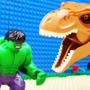 Lego Hulk Dinosaur