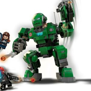 lego marvel captain carter the hydra stomper 76201 first images