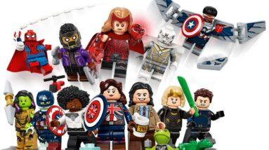 lego minifigures marvel studios series 71031 officially revealed
