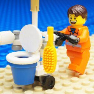 Lego Mobile Toilet