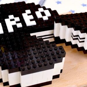 Lego Oreo Cheesecake - Lego In Real Life 3 / Stop Motion Cooking & ASMR