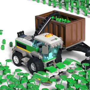 lego podcast explores the process of making bricks sustainable