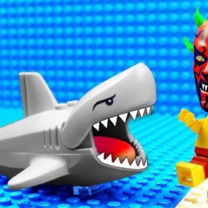 Lego Police Shark Car