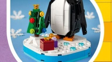 lego seasonal penguin 40498 coming soon just in time for the holidays