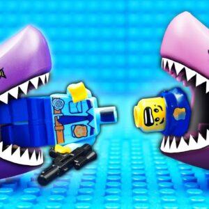 Lego Shark Prison Dino Fail