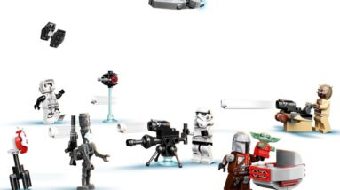 lego star wars advent calendar 75307 official images released