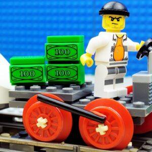 Lego Train Money Transport Fail