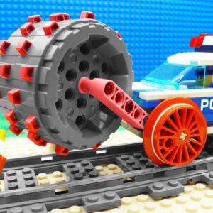 Lego Train Safe Steamroller Police Fail