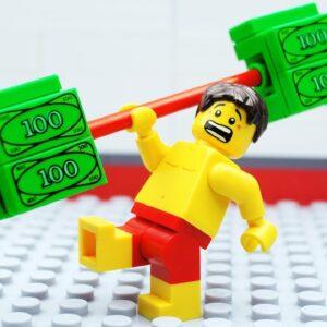 Lego VIP Gym Fail - Money Beach