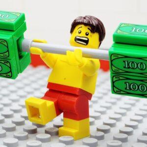 Lego VIP Gym Money Fail