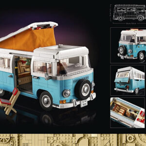lego volkswagen t2 camper van press release