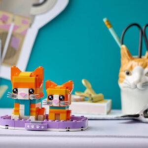 more lego brickheadz pets to love collect