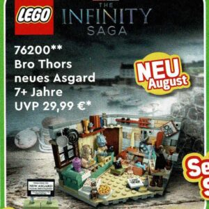 new lego marvel bro thors new asgard 76200 arriving this summer