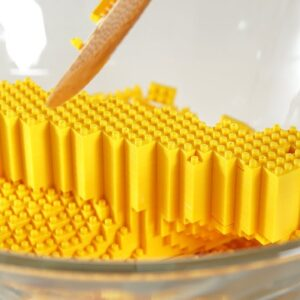 Lego Damizle Cake - Lego In Real Life 15 / Stop Motion Cooking & ASMR