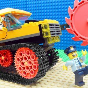 Police Truck Car Lego – Dumper Fire Truck Fail