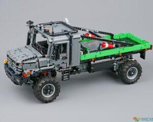 review 42129 4x4 mercedes benz zetros trial truck