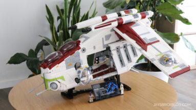 review lego 75309 ucs republic gunship