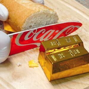 The strongest knife to make gold - Sandwich Stop Motion Cooking & ASMR