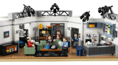seinfeld lego set now available for vips plus a review roundup