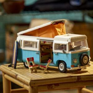 summer vibes abound with legos volkswagen t2 camper van 10279