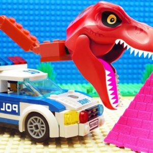 Super-Car vs Police Truck Fail Lego