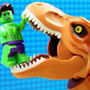 Super Heroes vs Dinosaur Godzilla Lego