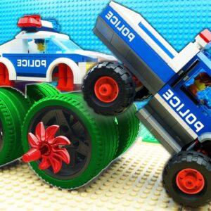 Super Police Car vs Police Truck Fail Lego