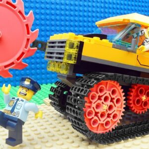 Super Police Car vs Speed Truck Fail Lego