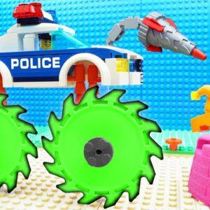 Super Police Car vs Truck Fail Lego