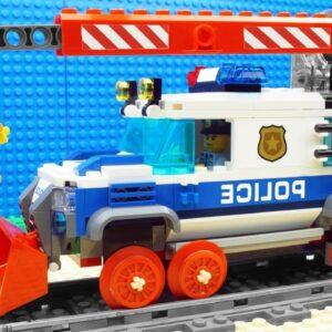 Super-Steamroller-VIP, Food Truck Fail - Lego