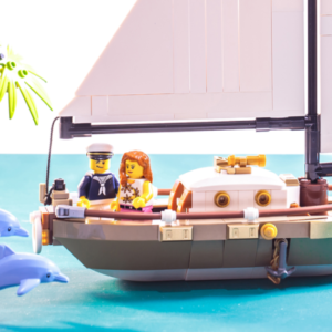 the lego ideas dream holiday sailboat 40487 will be the next lego gift with purchase set